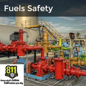 Pipeline/Fuels - outdoor fuel line