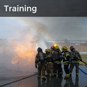 Training Division - firefighters in training